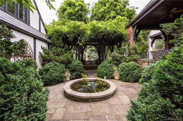 Renovated Tudor-style home luxury homes