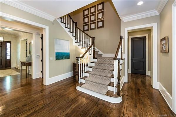 Luxury properties elegant custom home on a sought-after street