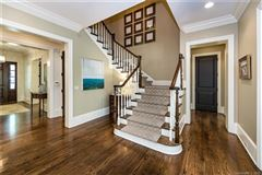 Luxury real estate elegant custom home on a sought-after street