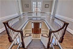 Mansions in impressive classic georgian