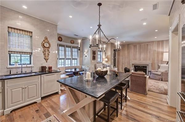 Exquisite first floor end unit  luxury real estate