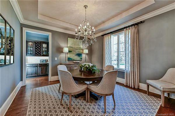 Luxury homes beautiful custom home in popular Davidson Wood