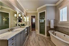 Luxury real estate beautiful custom home in popular Davidson Wood