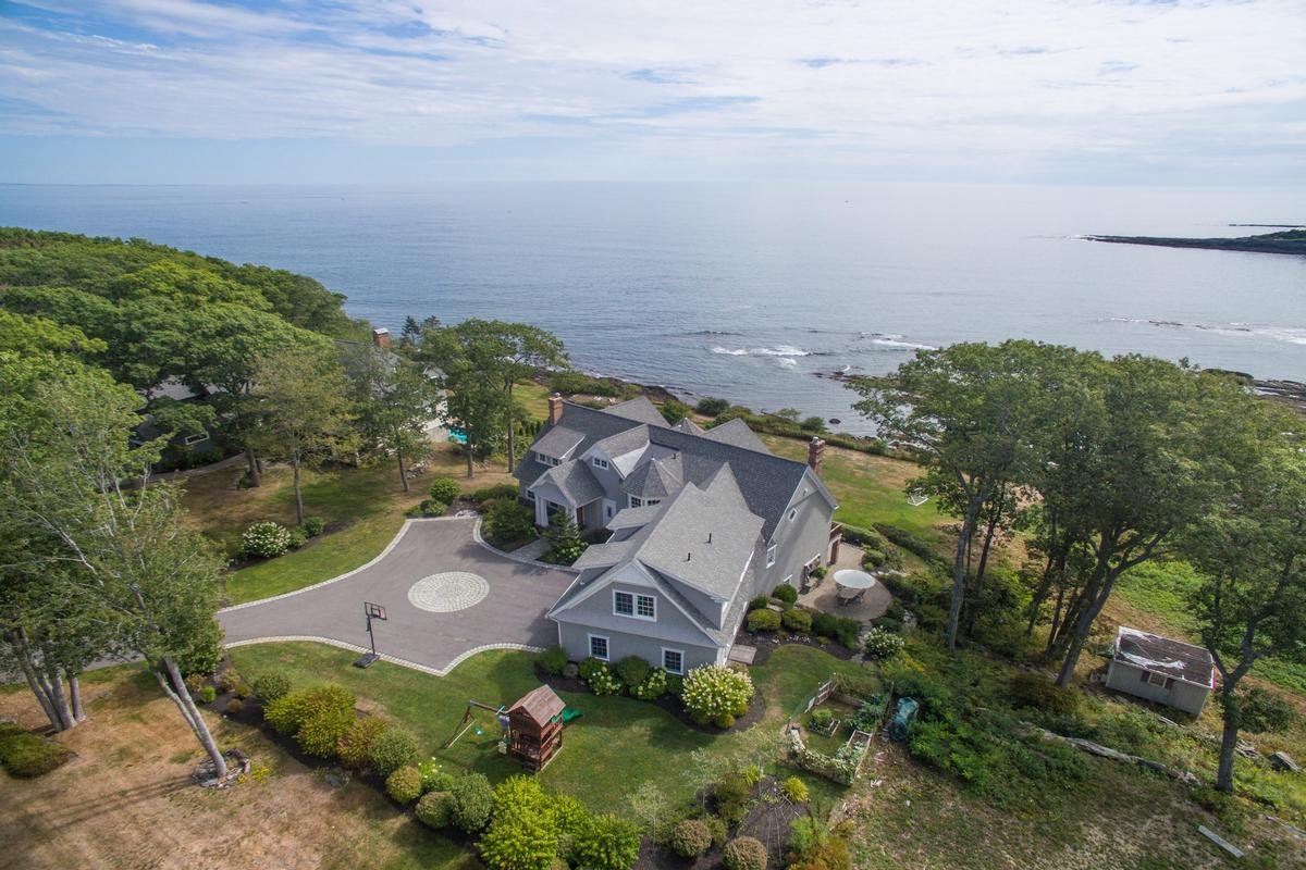 Exquisite Shingle Style Home Maine Luxury Homes