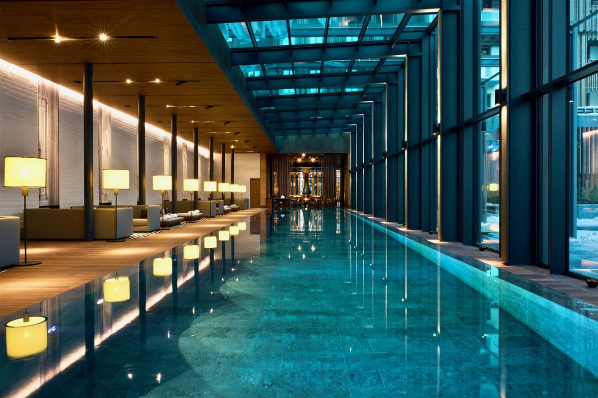 Luxury homes a luxurious suite in the chedi andermatt
