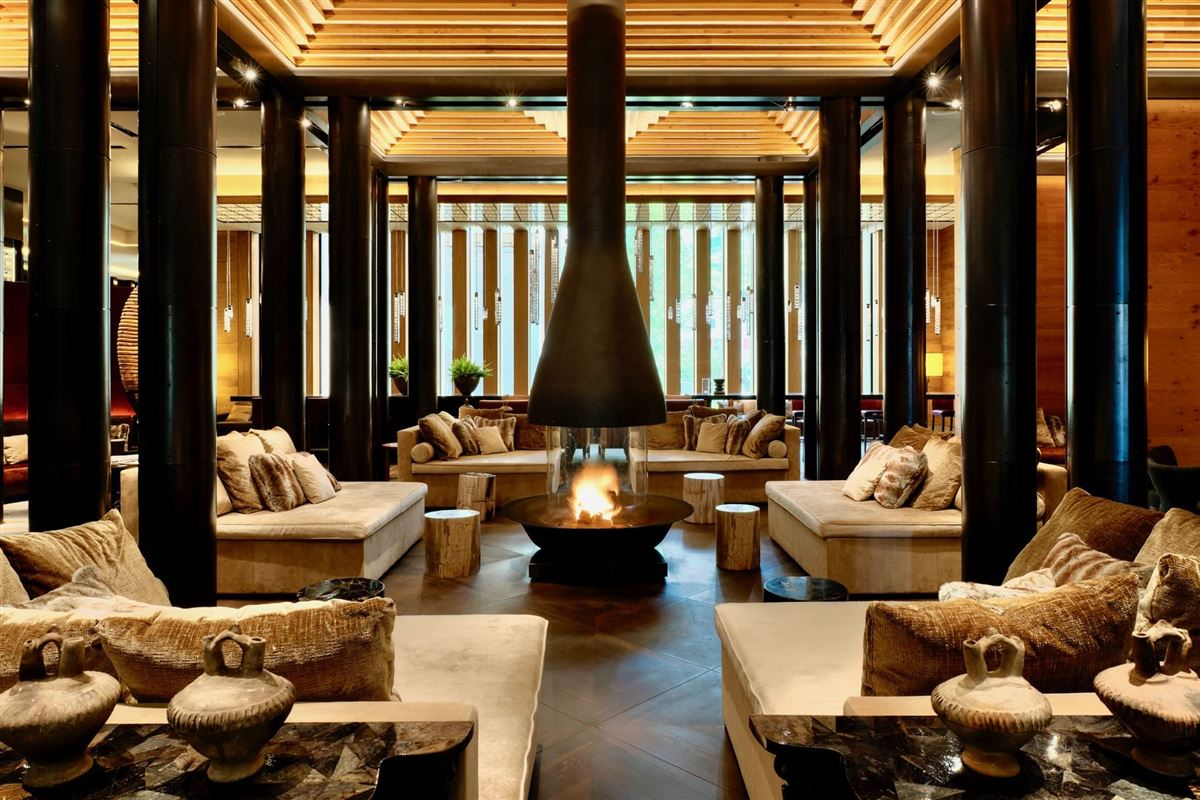 a luxurious suite in the chedi andermatt luxury homes