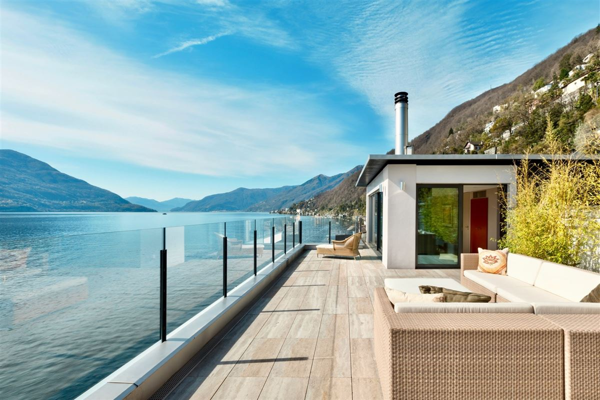Duplex penthouse on the shores of Lake Maggiore luxury real estate