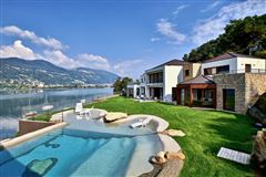 a majestic lake front home in montagnola luxury homes