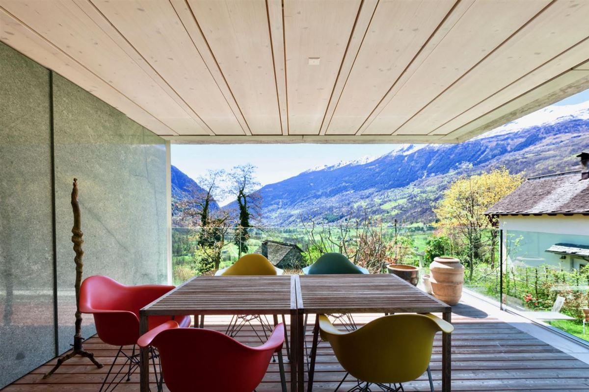 Luxury real estate modern masterpiece in Switzerland