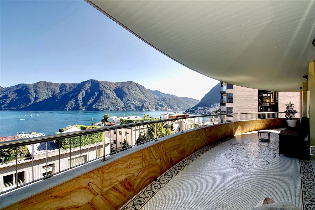 beautiful apartment in the center of Lugano luxury properties