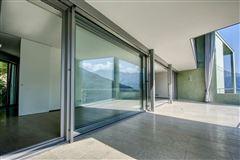Luxury homes in new modern villa in Vico Morcote