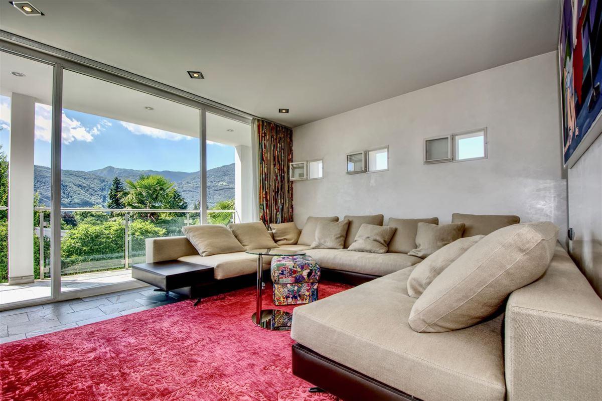 Modern villa in Cureglia luxury homes