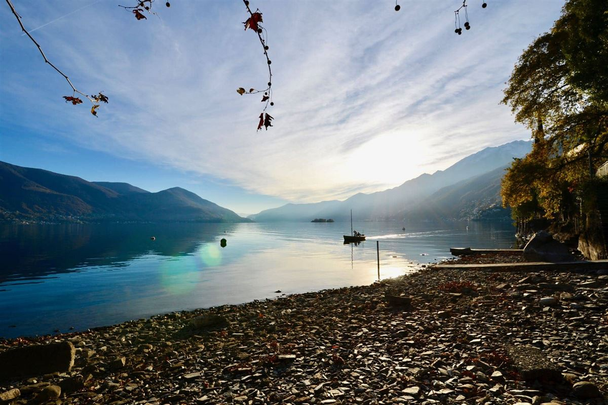 Luxury real estate beautifully located on the hills of ascona