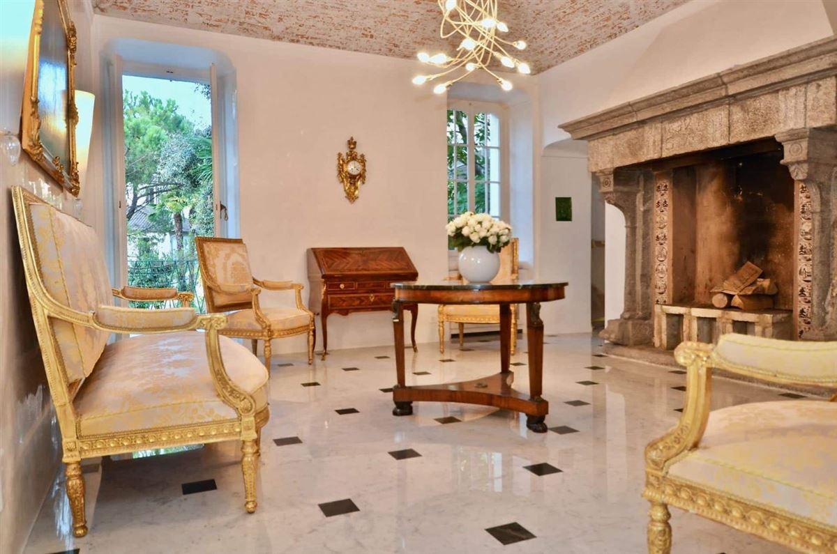 Luxury real estate castle-like villa enjoys private lake access
