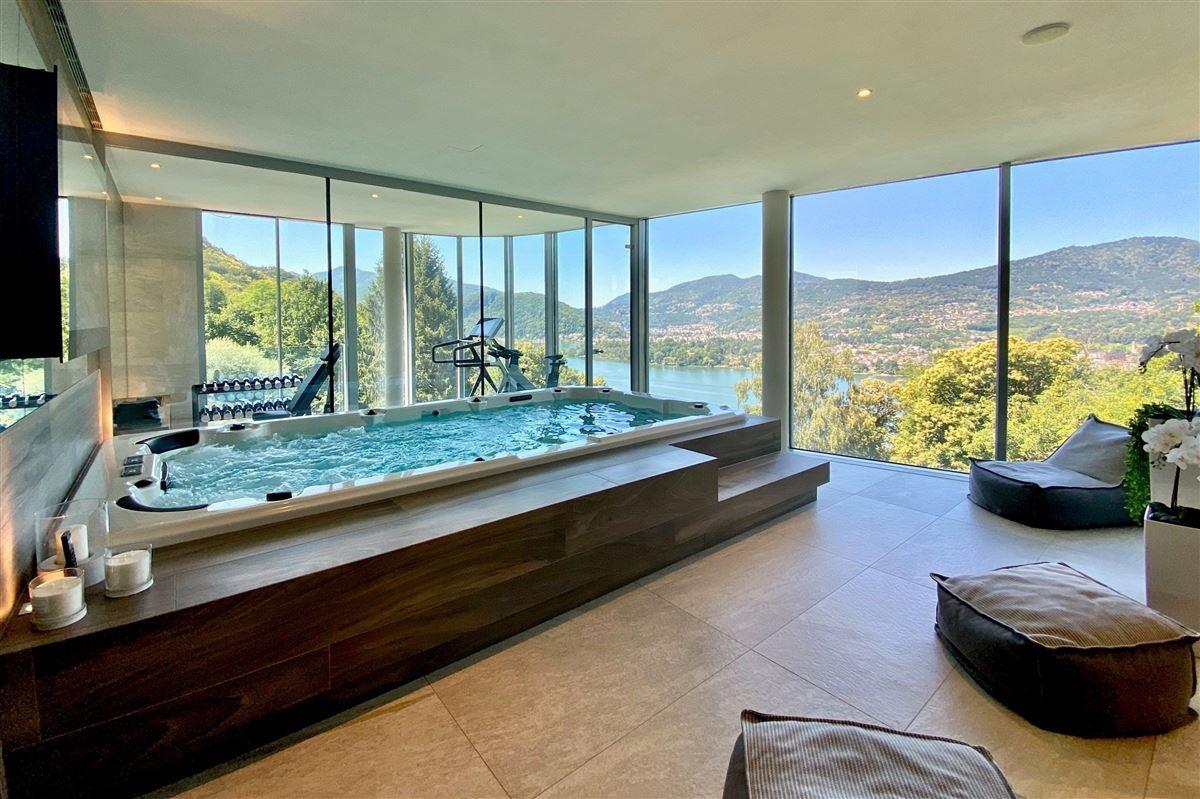 Modern villa in Montagnola luxury homes