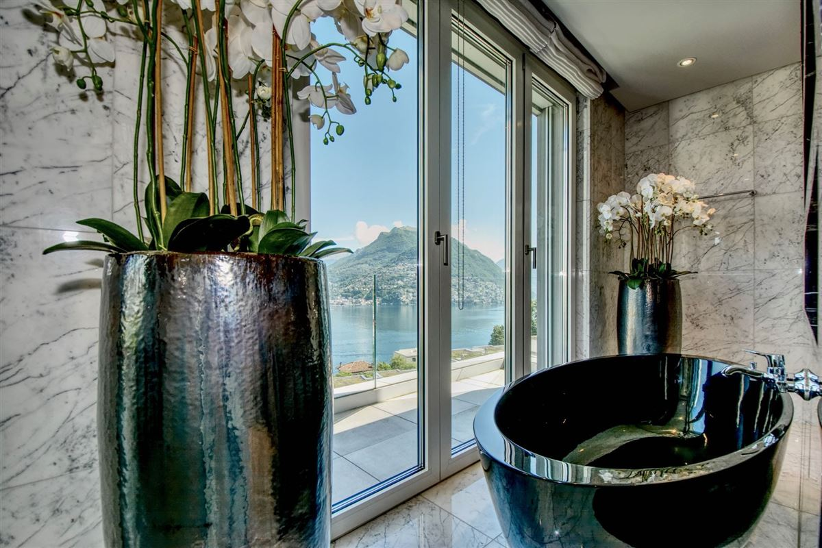 luxury duplex-penthouse with views in paradisO SWITZERLAND luxury real estate