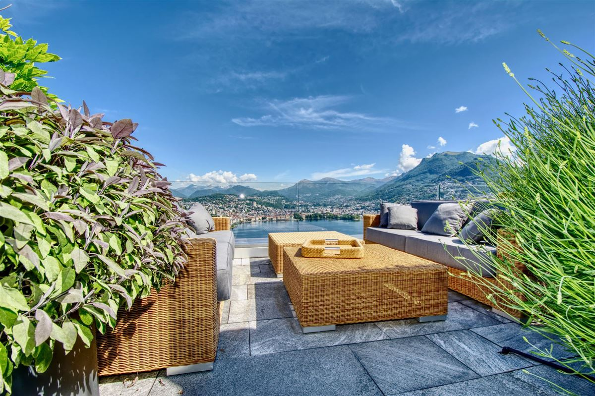 luxury duplex-penthouse with views in paradisO SWITZERLAND luxury properties