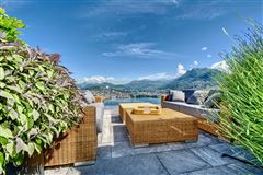 luxury duplex-penthouse with views in paradisO SWITZERLAND luxury homes