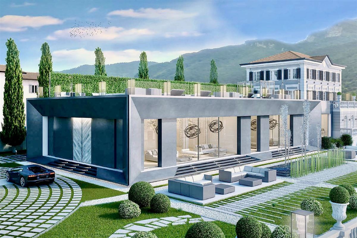 Luxury homes breathtaking villa on Lake Lugano