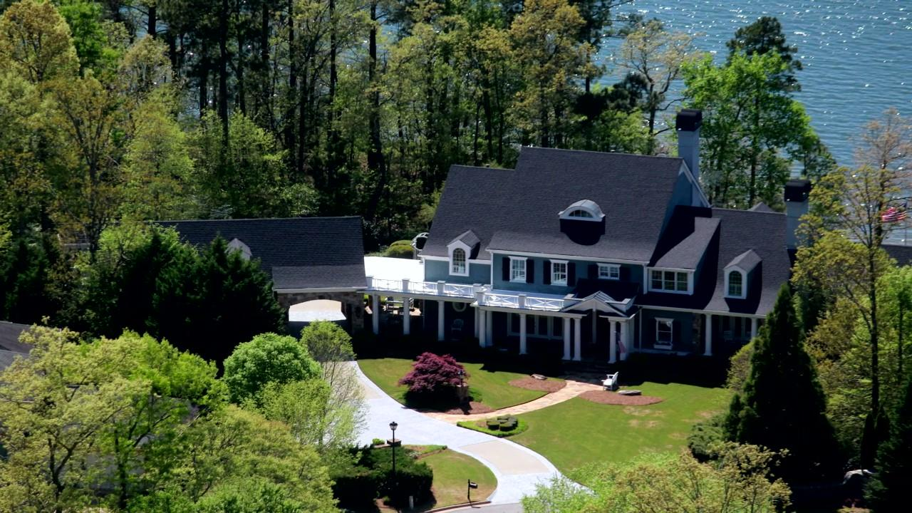 Luxury homes in Metro Atlanta Lake Lanier Estate