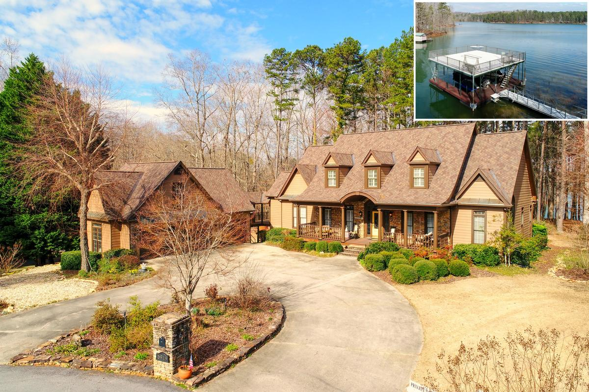 5919 Basswood Cove on Lake Lanier mansions