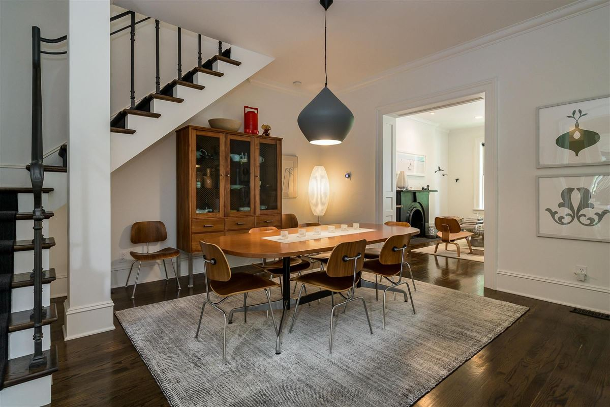 Luxury real estate renovated and expanded German Village Historic Home is a true gem