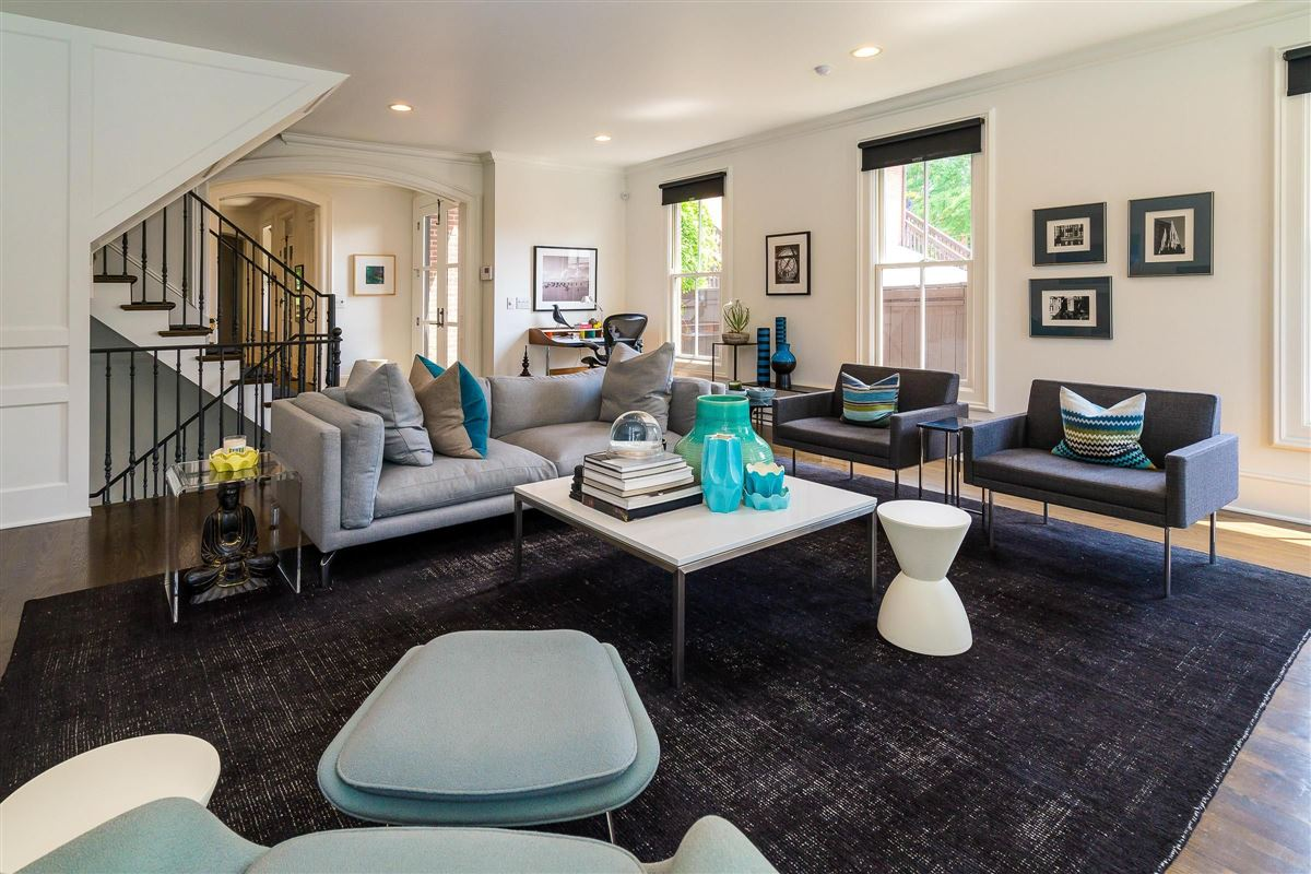 Luxury properties renovated and expanded German Village Historic Home is a true gem