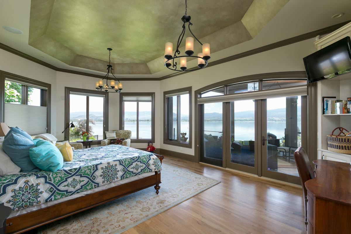 luxurious custom-built home in west kelowna mansions
