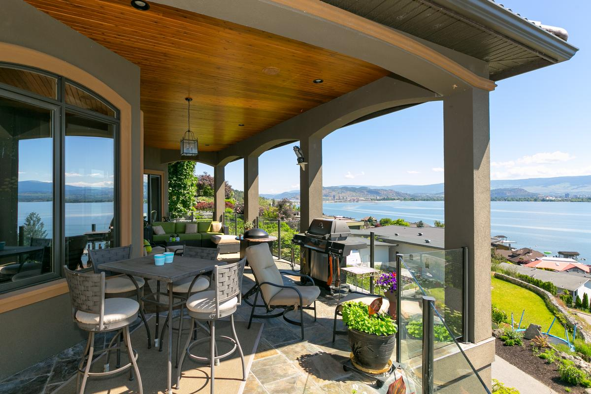 luxurious custom-built home in west kelowna luxury homes