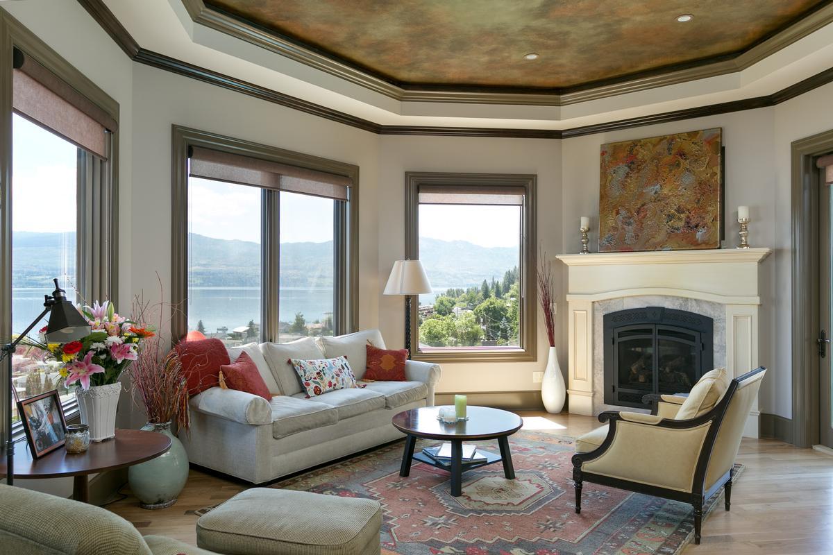 luxurious custom-built home in west kelowna luxury real estate