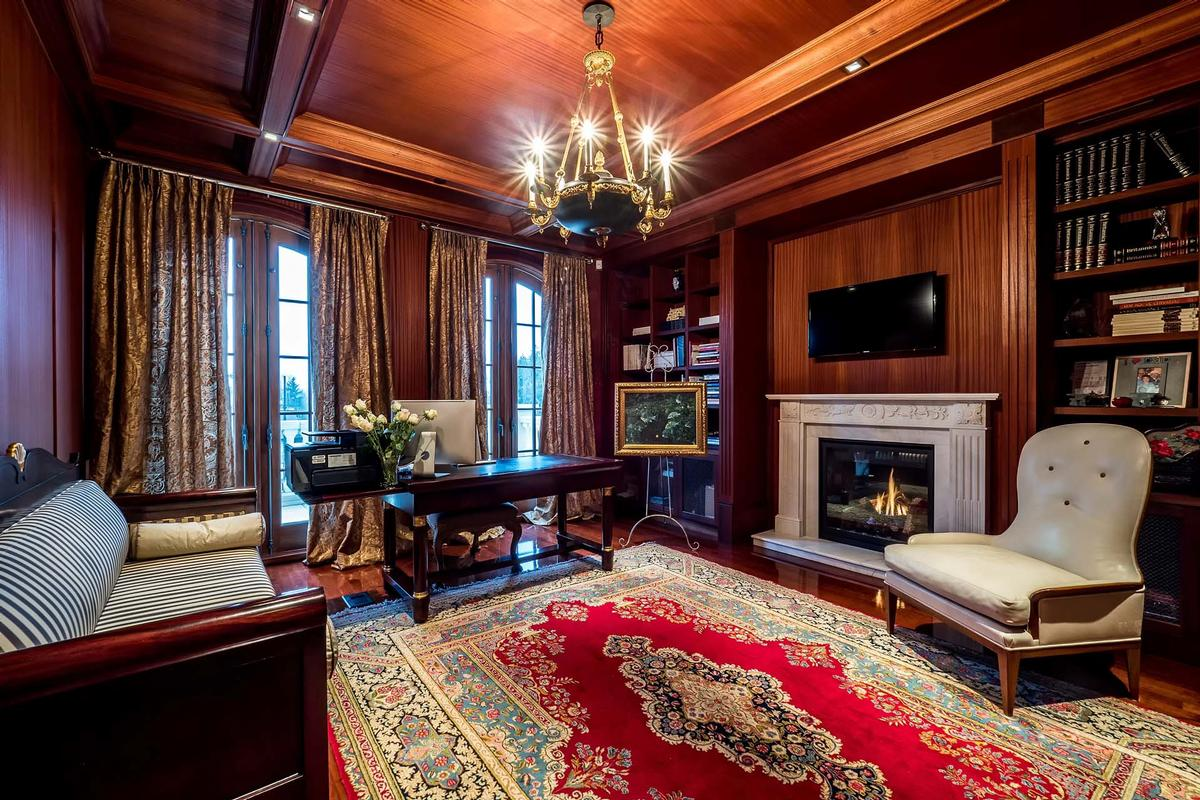 French inspired villa in Shaughnessy luxury properties