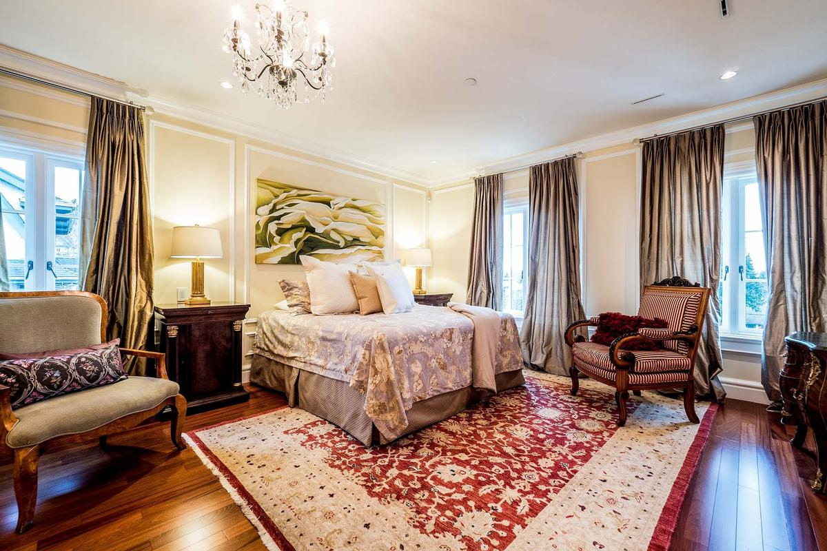 French inspired villa in Shaughnessy luxury homes