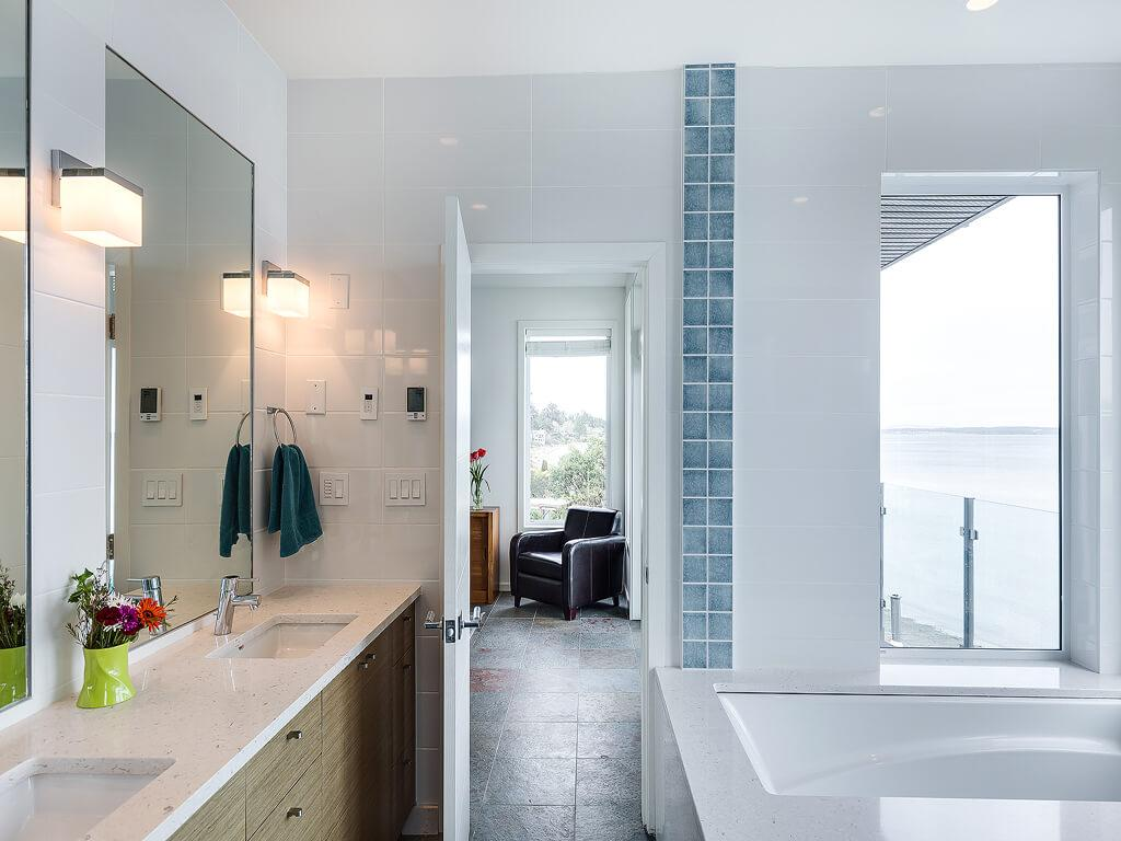 Stunning Luxury Waterfront Home luxury properties