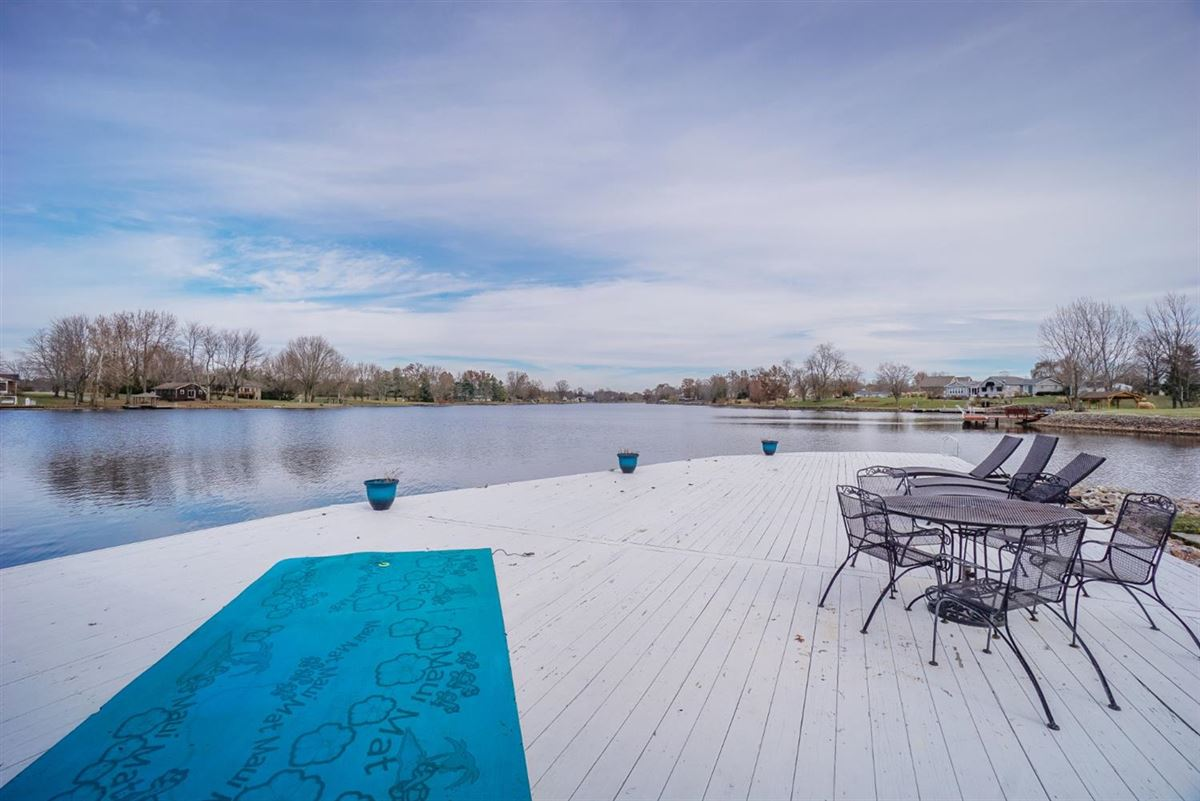 Luxury real estate new six bedroom lakefront home