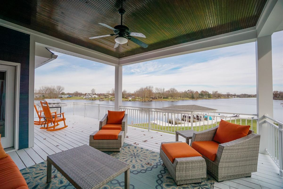 Mansions in new six bedroom lakefront home