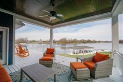 new six bedroom lakefront home mansions