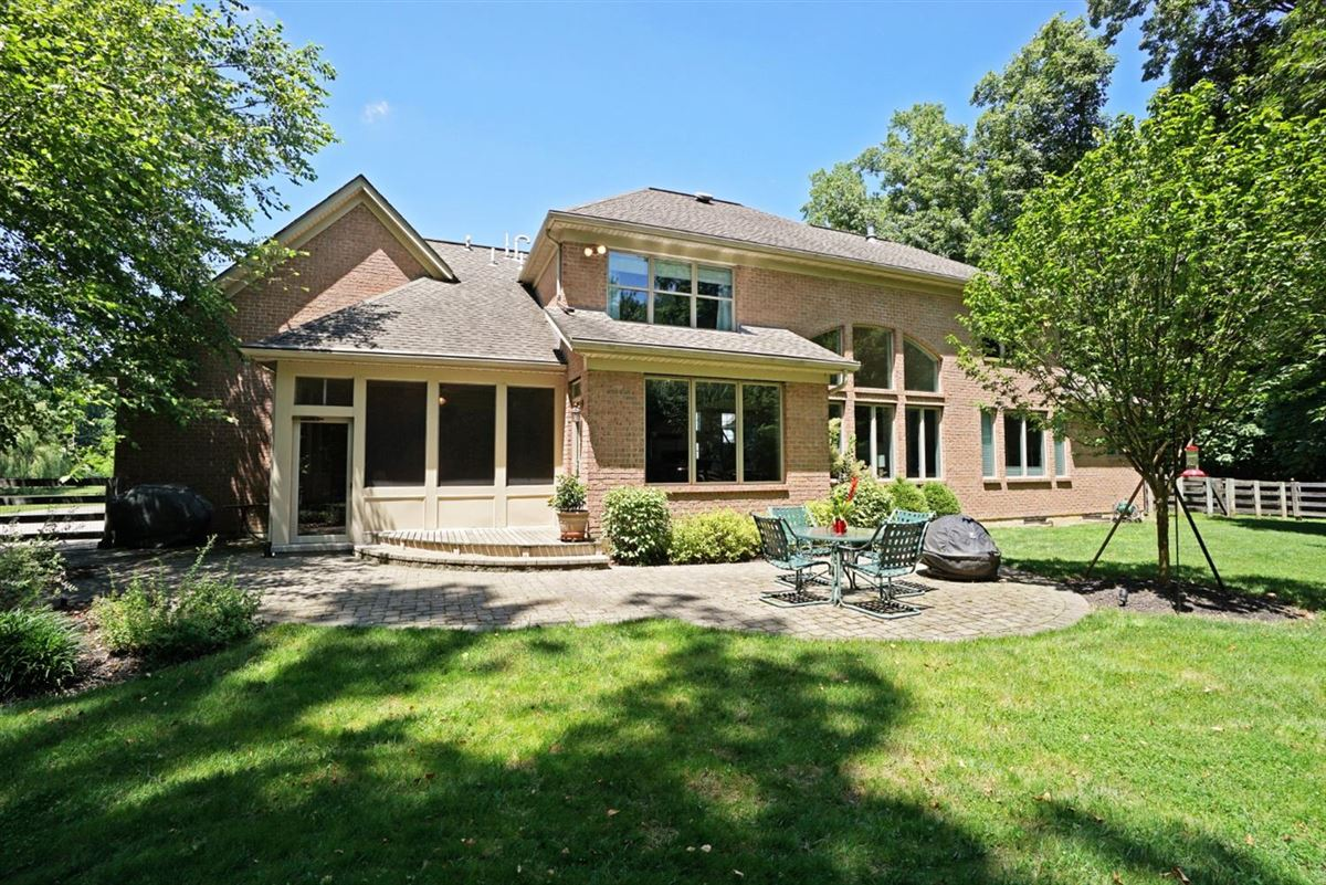 Immaculate custom built BRICK home luxury real estate