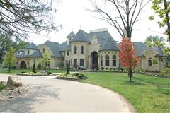 European Manor-style home on five-plus acres mansions