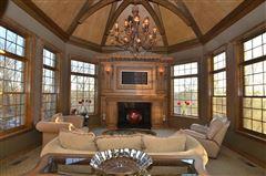 European Manor-style home on five-plus acres luxury homes