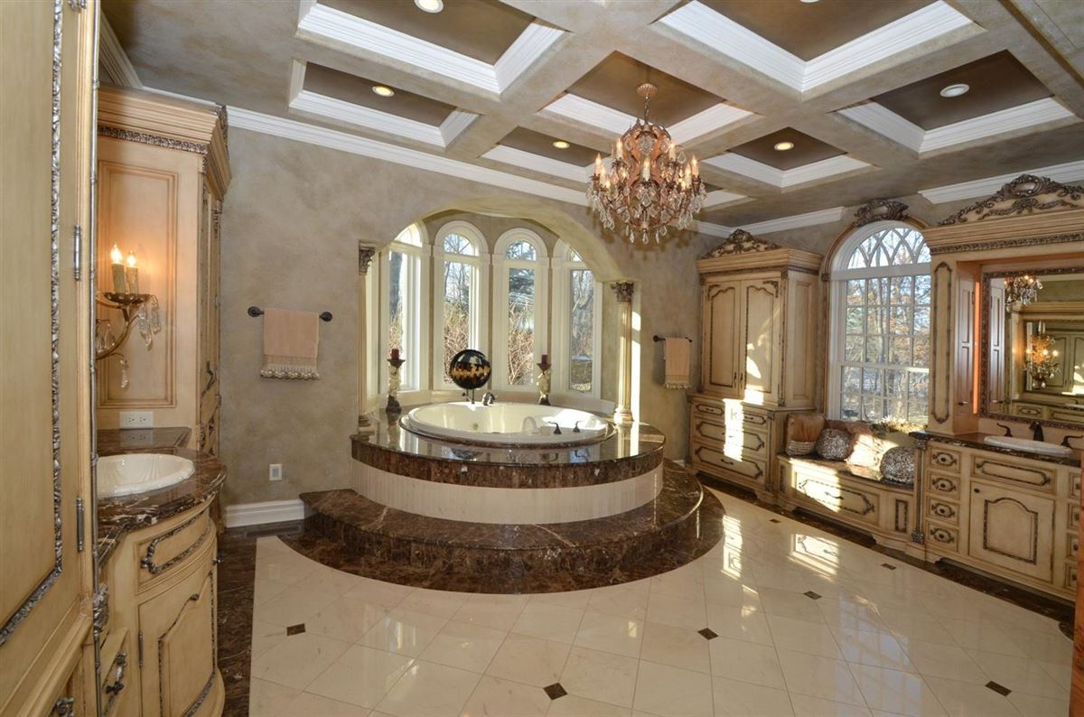 Luxury homes in European Manor-style home on five-plus acres