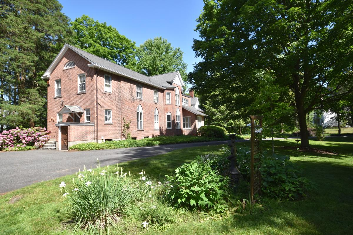 Luxury homes in Downtown Amherst Gothic Revival