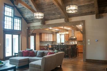 Custom Craftsman luxury homes