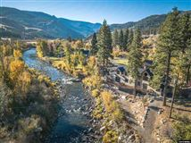 a private wooded paradise along the truckee river mansions