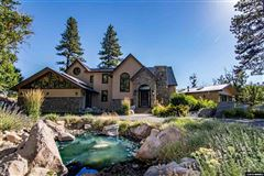 Luxury homes in a private wooded paradise along the truckee river