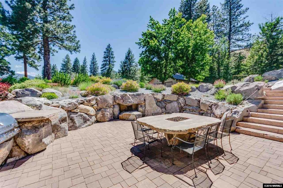 Luxury real estate a private wooded paradise along the truckee river