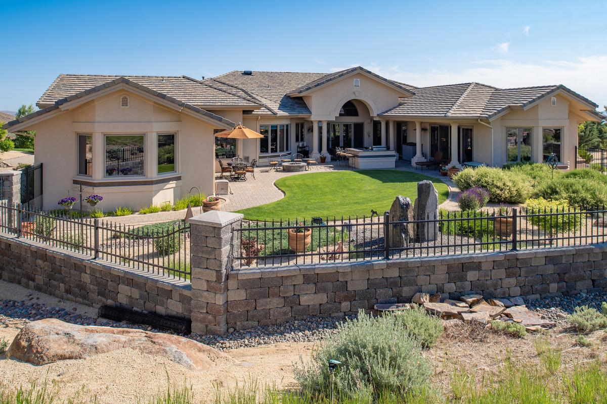 Luxury properties spectacular ArrowCreek custom home