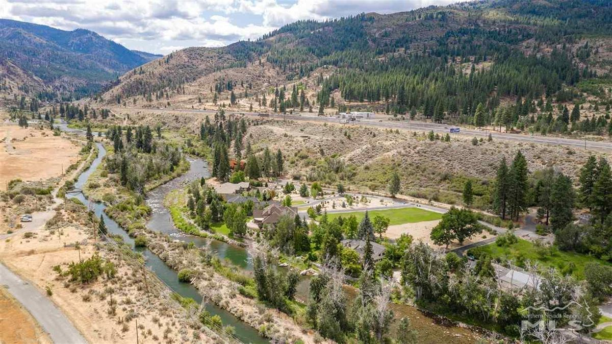 Historic, iconic home on 5 acres with 500 feet of Truckee River frontage luxury real estate