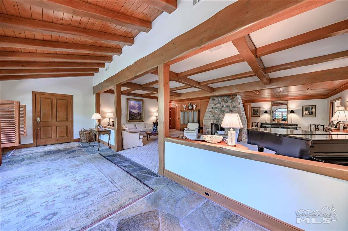 Historic, iconic home on 5 acres with 500 feet of Truckee River frontage luxury properties