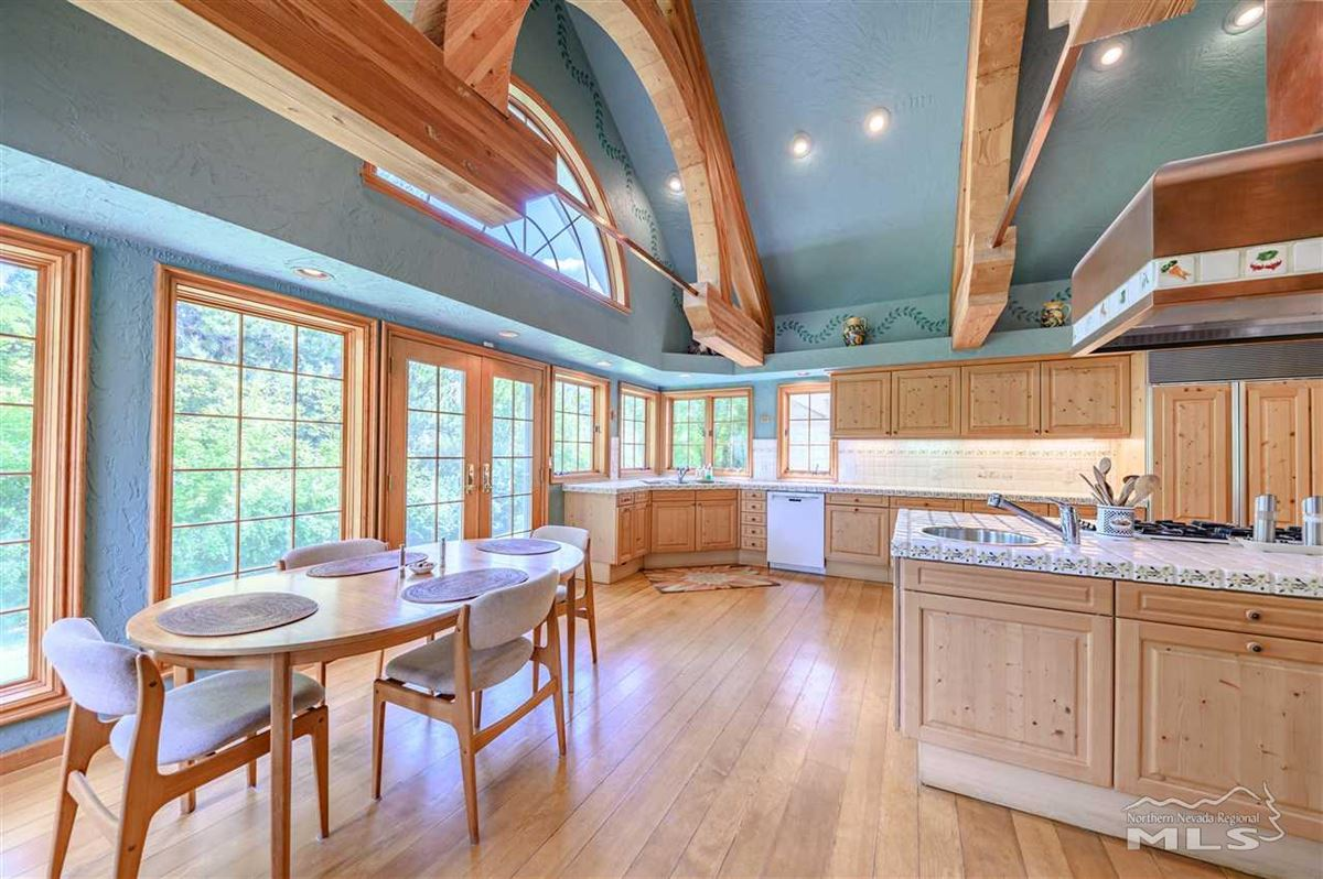 Mansions Historic, iconic home on 5 acres with 500 feet of Truckee River frontage