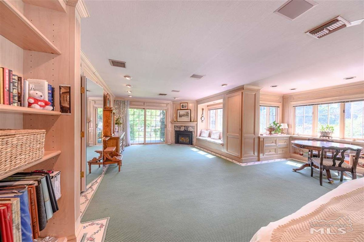 Historic, iconic home on 5 acres with 500 feet of Truckee River frontage mansions